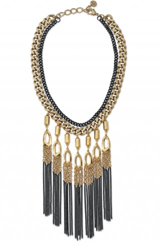 Lillith Fringe Necklace from Stella & Dot exclusive 50% offoffer!